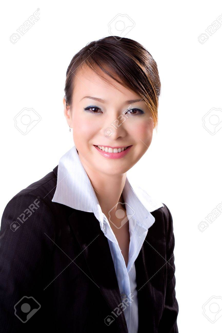 Gorgeous smile of a business executive Stock Photo - 2066173