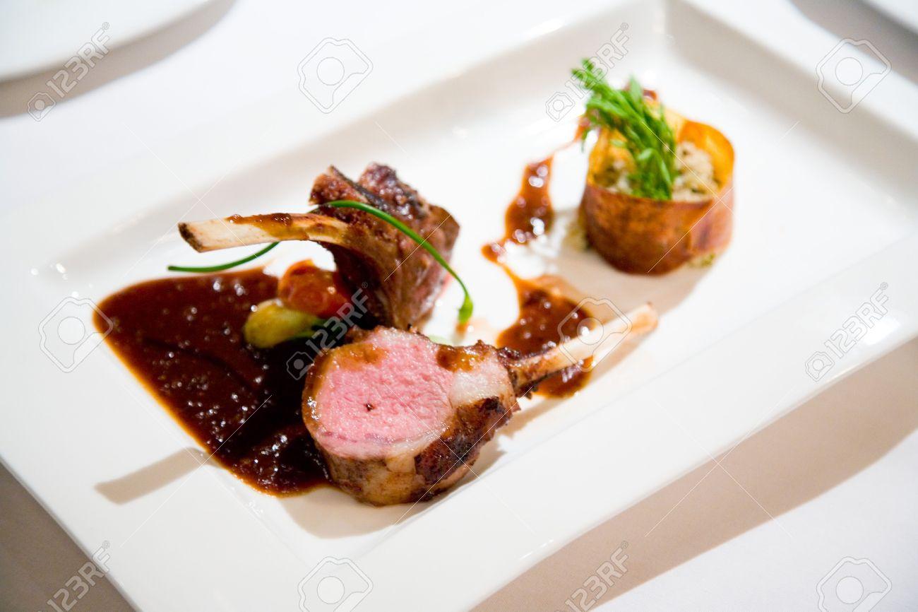 Gourmet Main Course Meal Stock P O 2579920