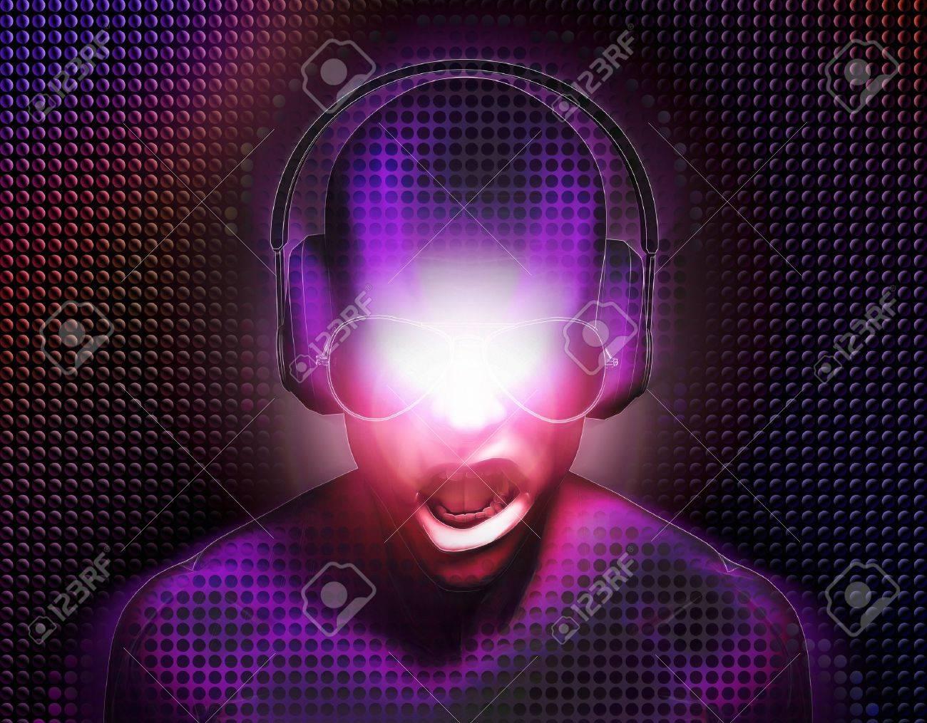 DJ With Headphones