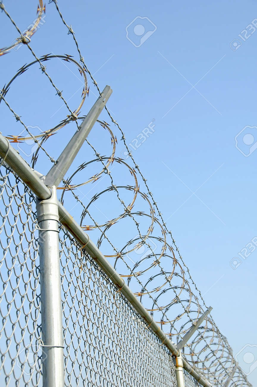Security Fence Stock Photo - 552293