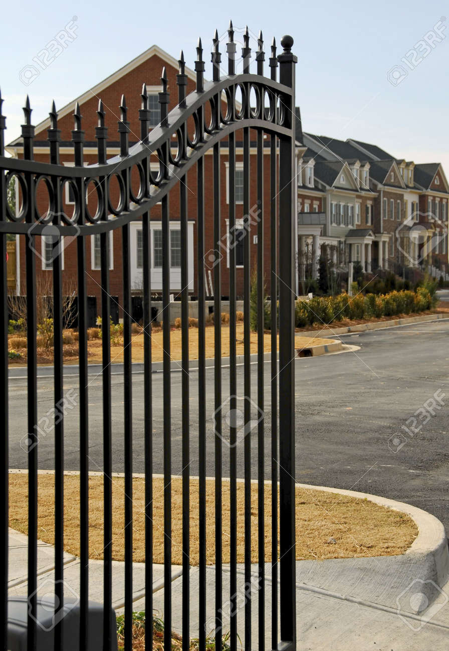 Gated Community Stock Photo - 736879