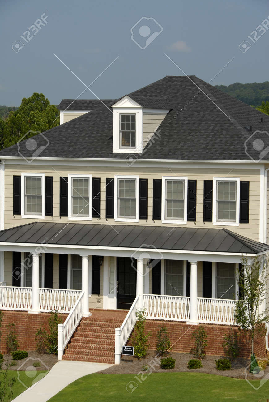 Private Residence in New Development Stock Photo - 1480290