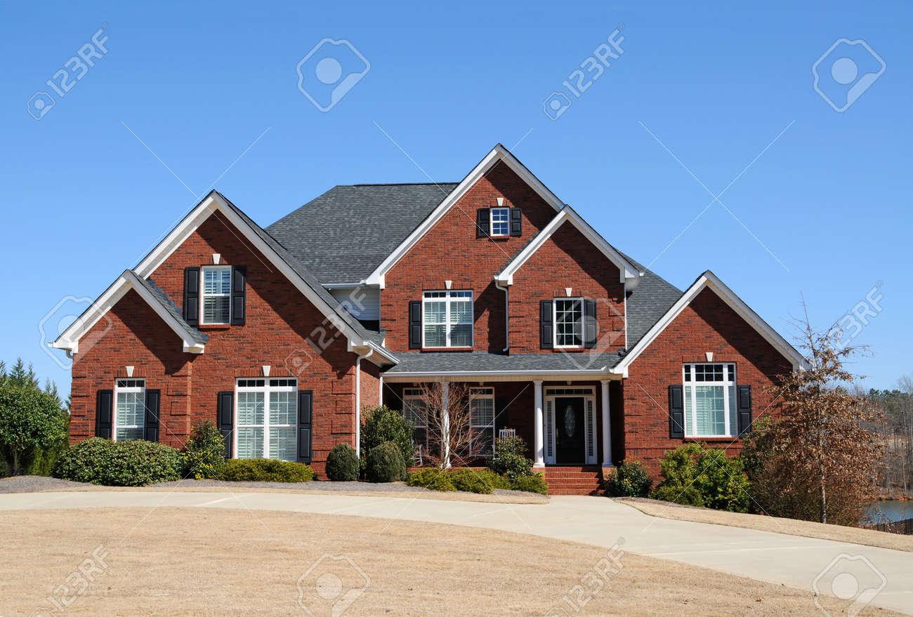 Large New Luxury Home Stock Photo - 4730919