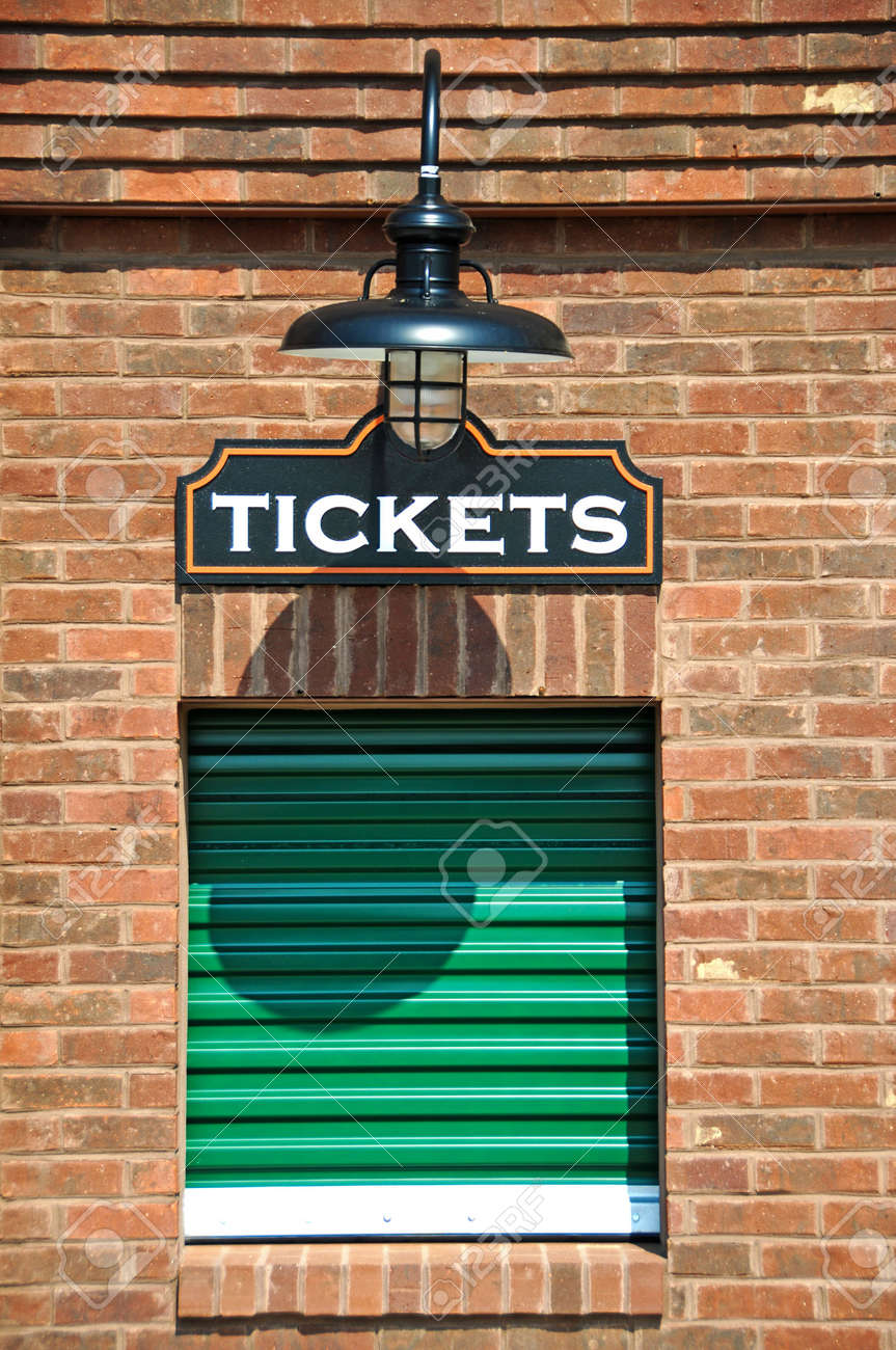 New Box Office with Closed Ticket Window - 7573937