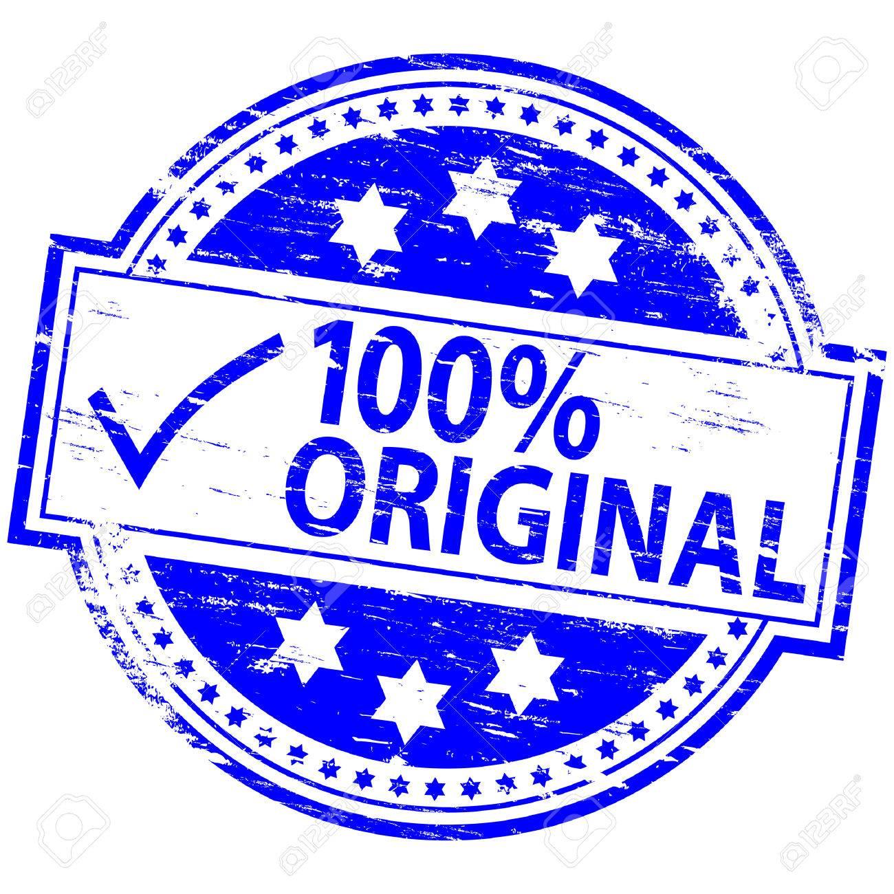 100% ORIGINAL Rubber Stamp Stock Vector - 8898170