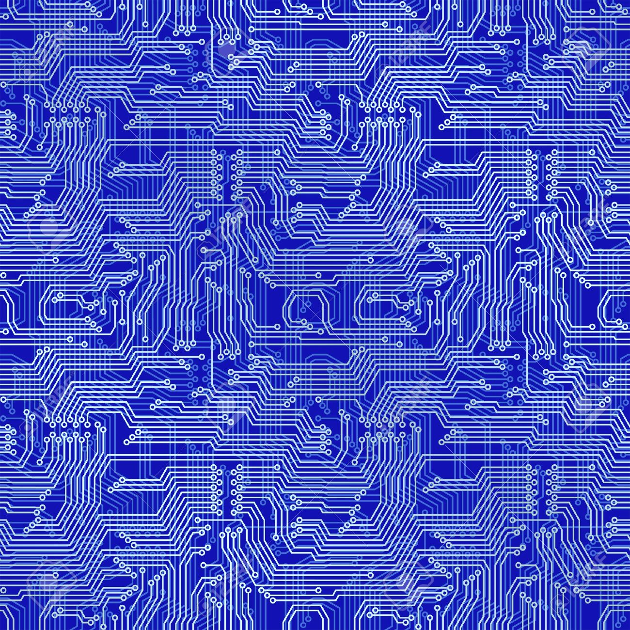 Electronic circuit board. Tileable seamless repeating background Stock Vector - 17527515