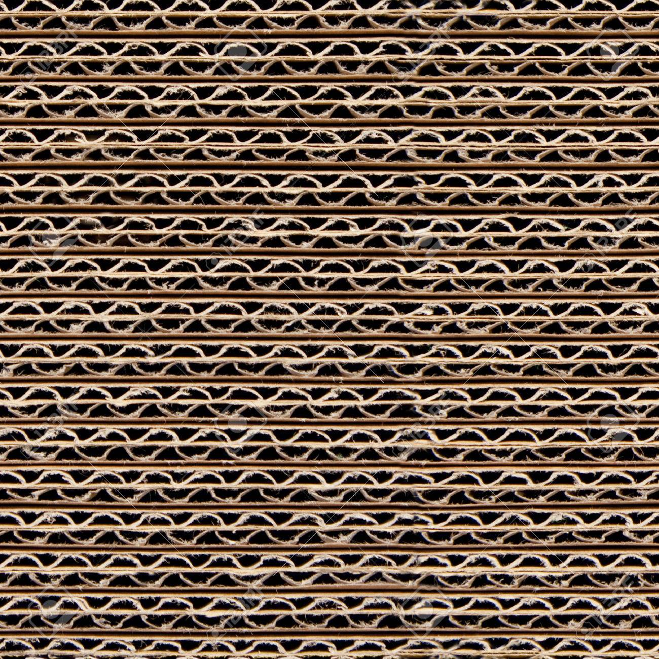 Repeating Corrugated Cardboard Background Texture This Picture Is A