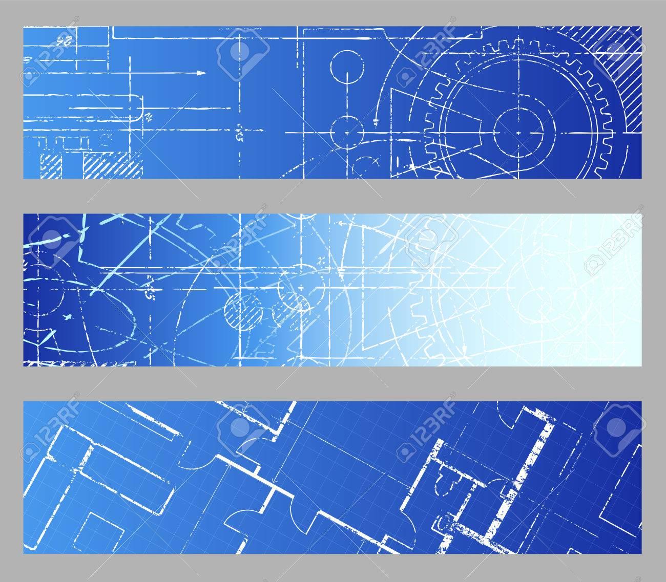 Technical blueprint engineering web banner vector backgrounds technical blueprint engineering web banner vector backgrounds stock vector 37238585 malvernweather Choice Image