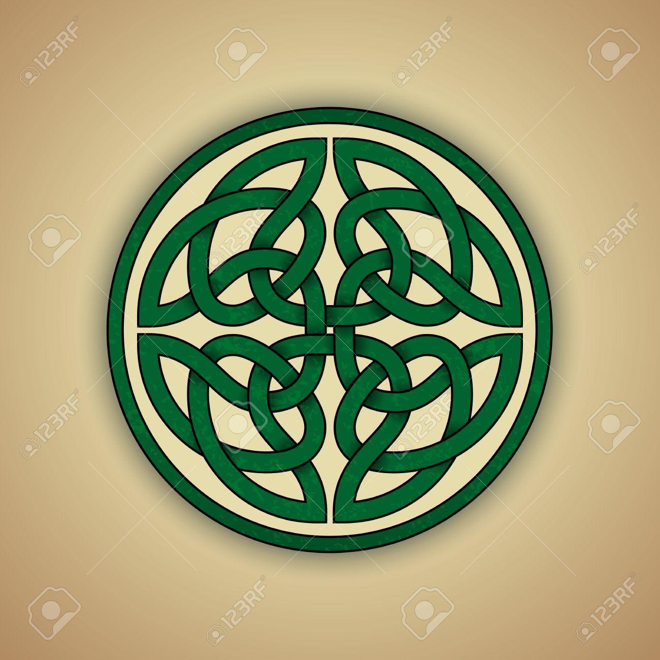Noeud Celtique Symbole De Léternité Clip Art Libres De Droits