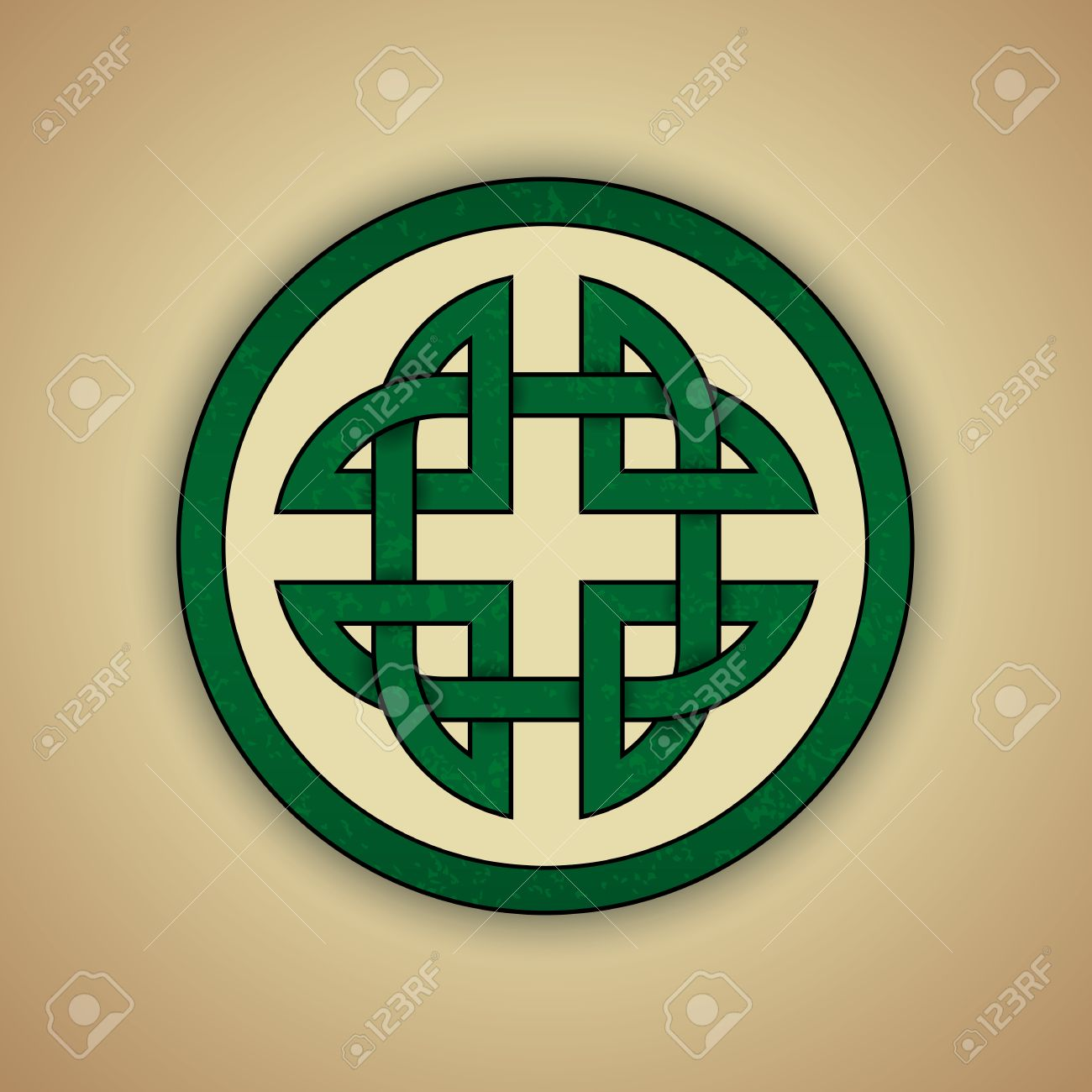 Celtic Knot Symbol Of Strength Royalty Free Cliparts Vectors And