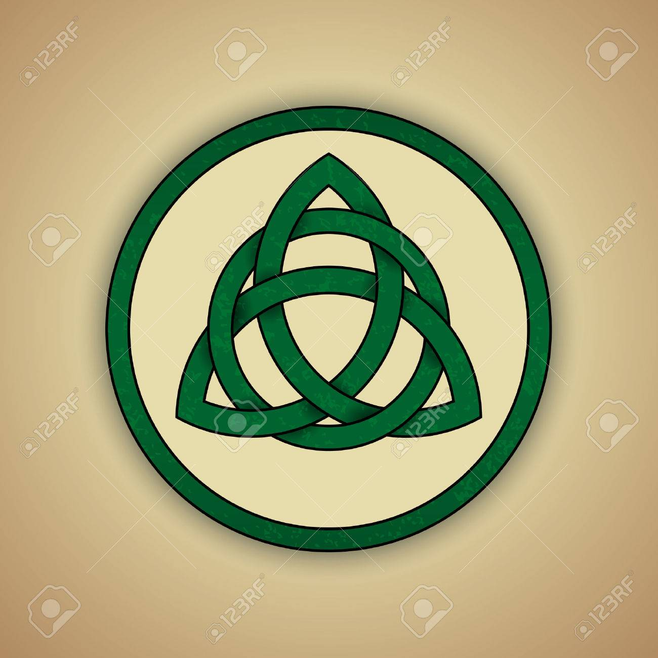 Celtic knot stock photos royalty free business images celtic knot symbol of trinity illustration biocorpaavc Image collections