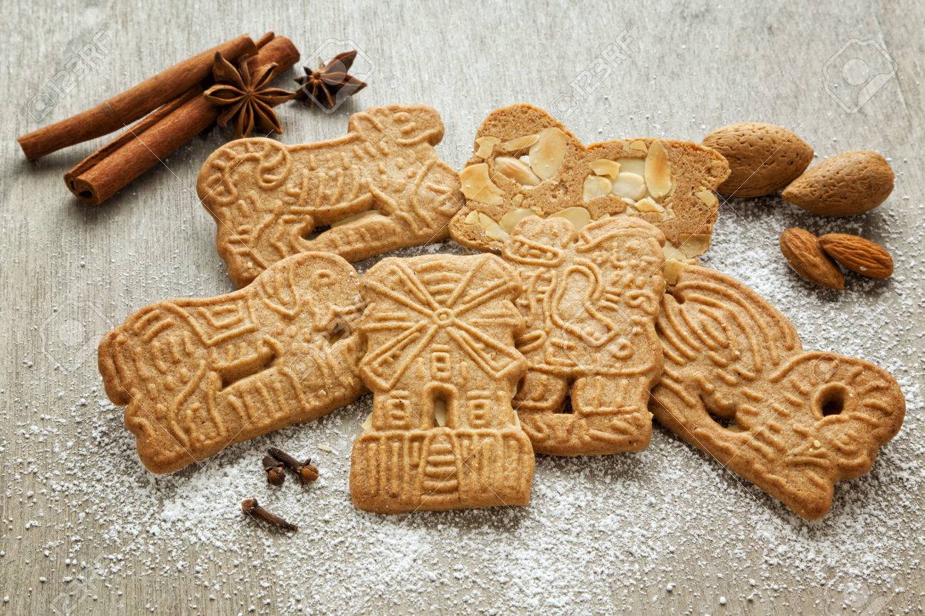 Traditional Dutch Christmas Cookies And Their Ingredients