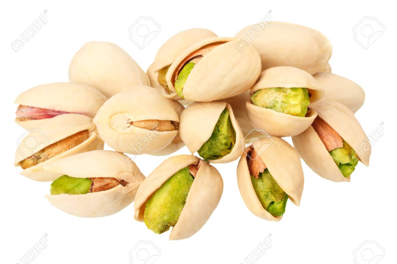 pistachio isolated on a white background. Food - 123589867