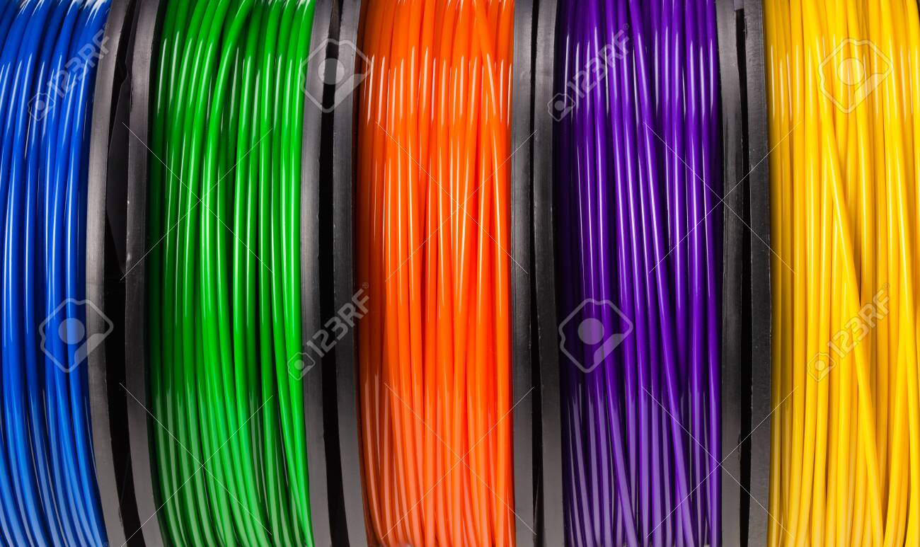 filament 3d printer background or texture. background - 149965448
