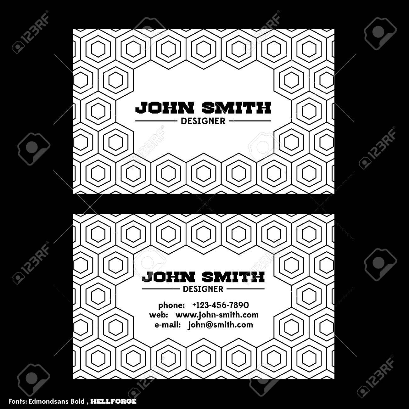 Vintage business card template on white background royalty free vector vintage business card template on white background colourmoves