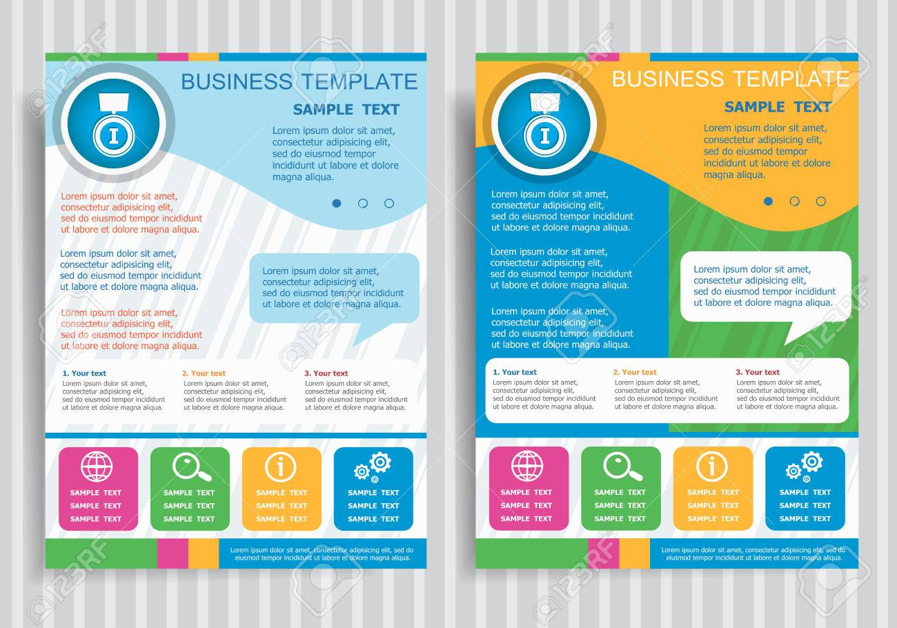 Pictograph of award on vector Brochure Flyer design Layout template,