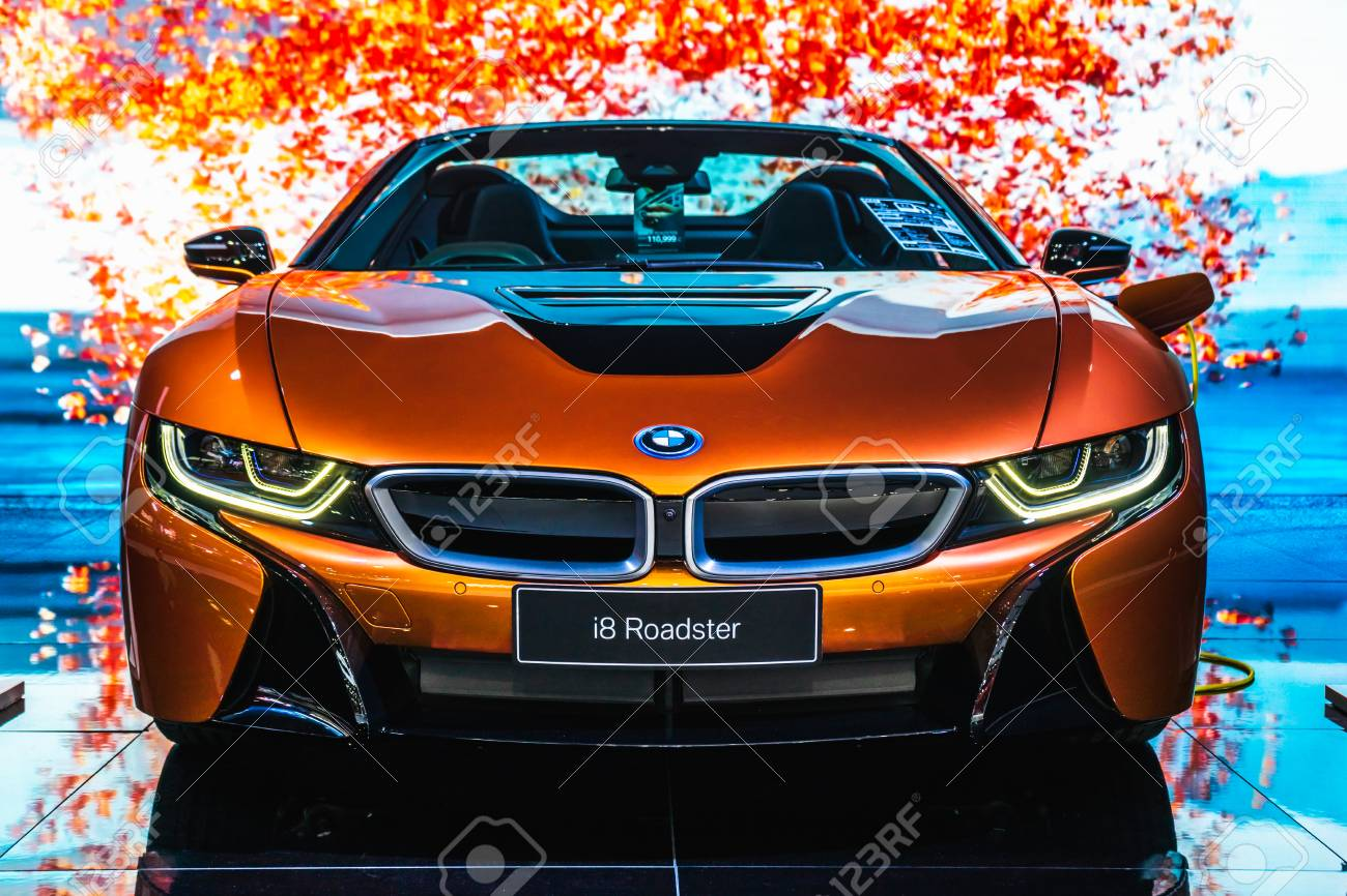 Bangkok Thailand March 31 2019 Bmw I8 Roadster Is On Display Stock Photo Picture And Royalty Free Image Image 120375812