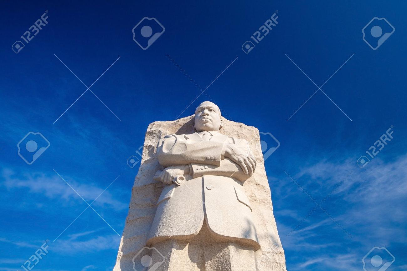 Martin Luther King Monument In Washington Dc Usa Stock Photo