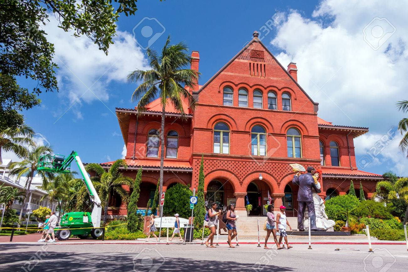 KEY WEST FLORIDA USA August  Key West Museum Of Art - Historical museums in usa