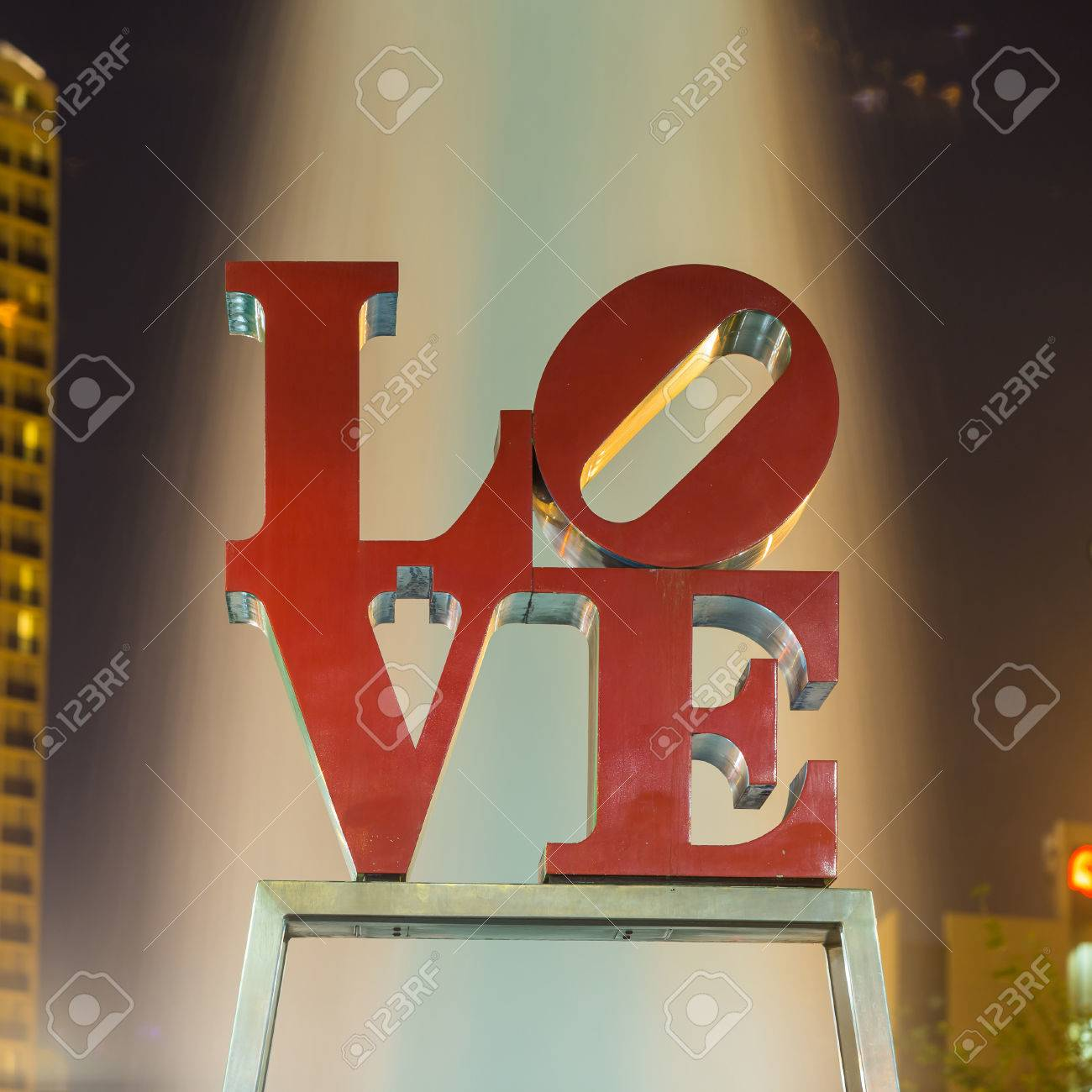 Philadelphia May 6 The Popular Love Park Named After The Love
