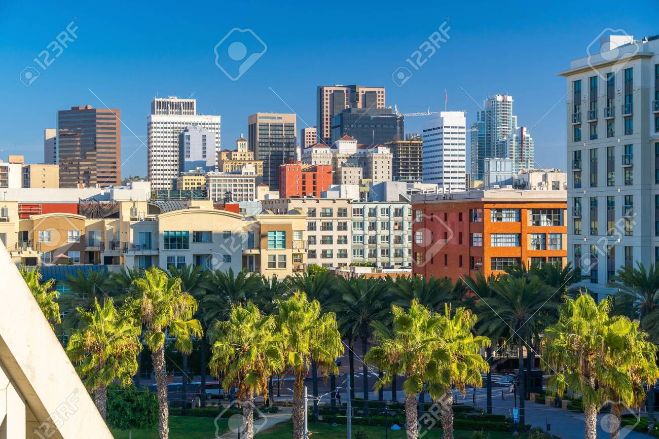 Downtown San Diego Skyline In California Usa Stock Photo Picture And Royalty Free Image Image 133871241