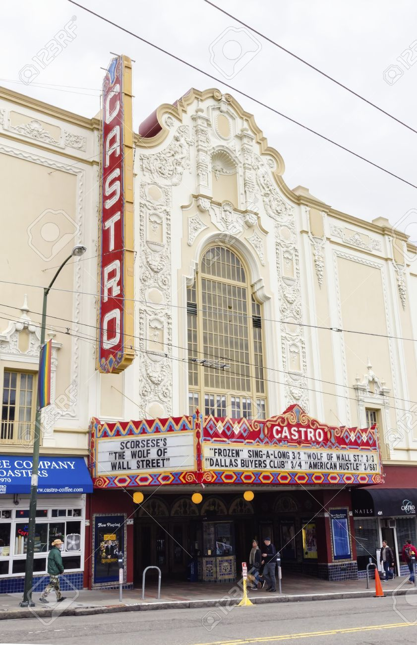 the castro theater in san francisco, california, united states