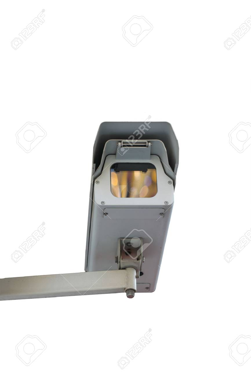 isolated security video Stock Photo - 9071005