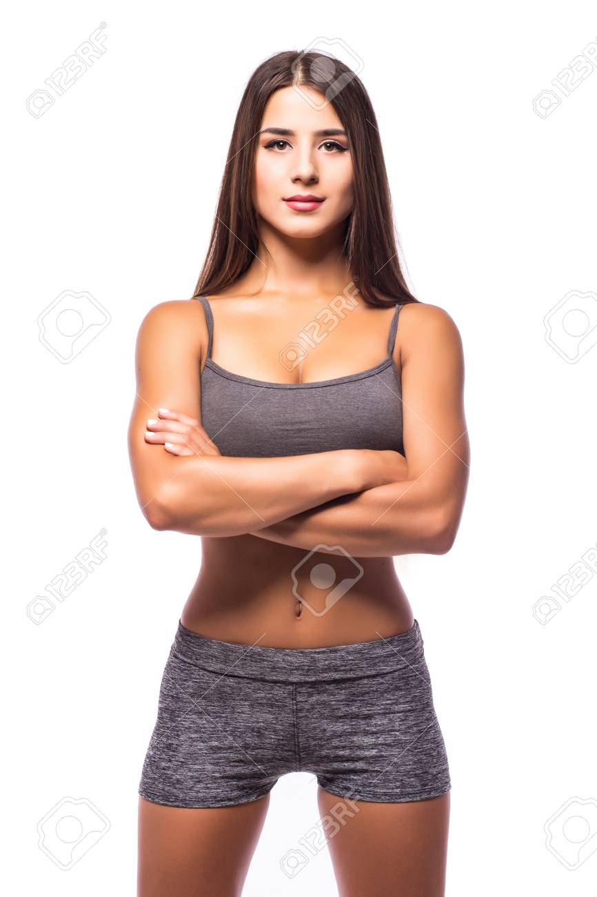 attraktiver weiblicher Körper