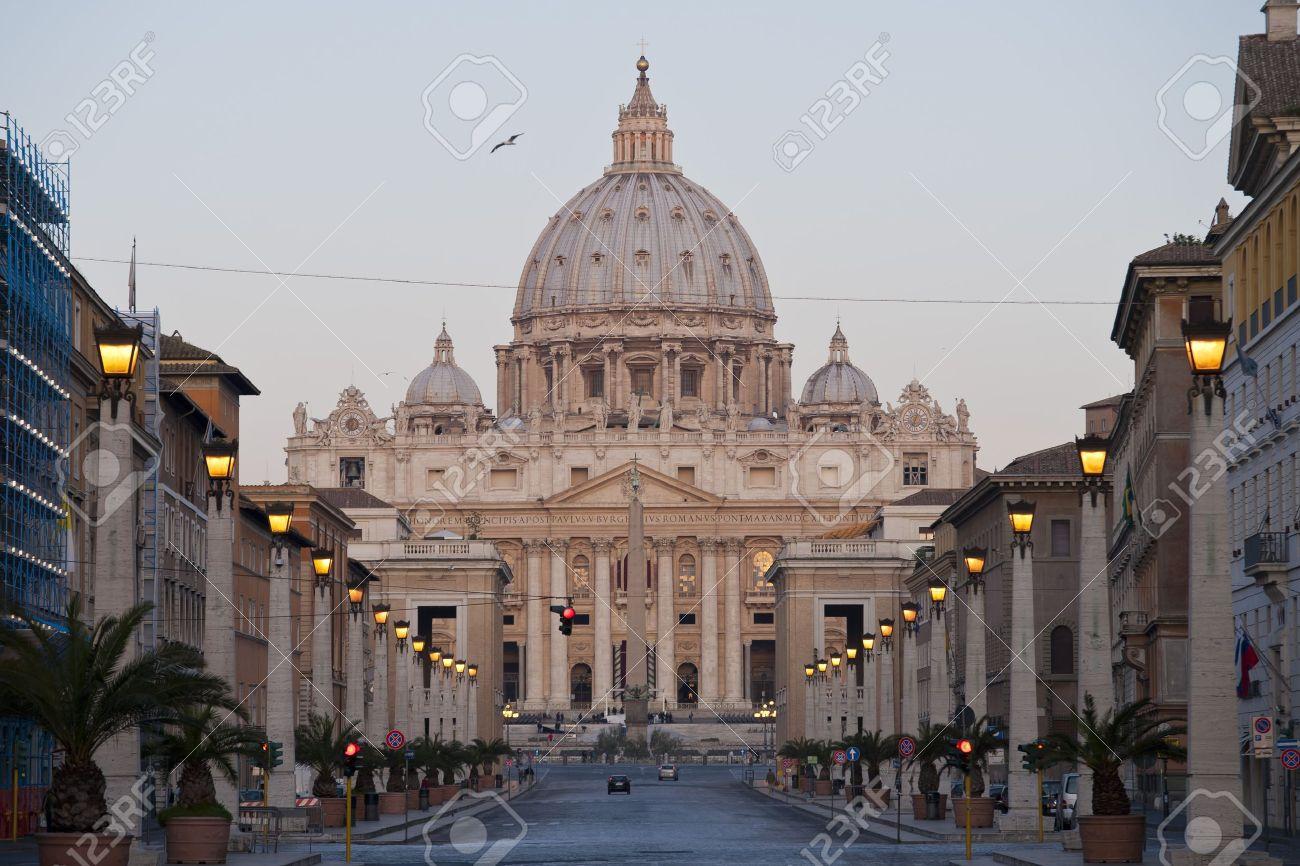 the facade of saint peter s basilica a masterpiece of italian