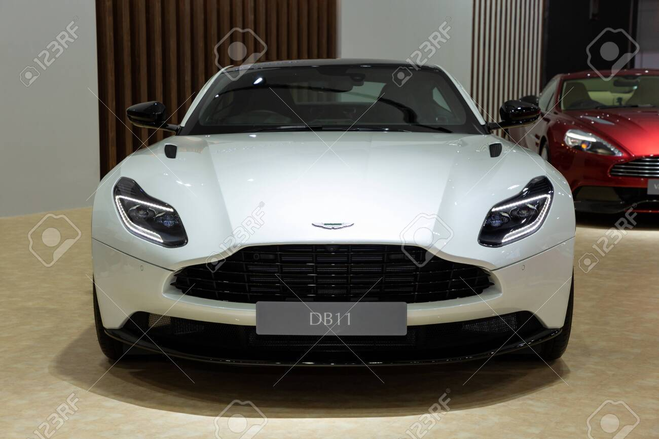 Nonthaburi Thailand April 3 2019 Aston Martin Db11 Coupe Stock Photo Picture And Royalty Free Image Image 128141675