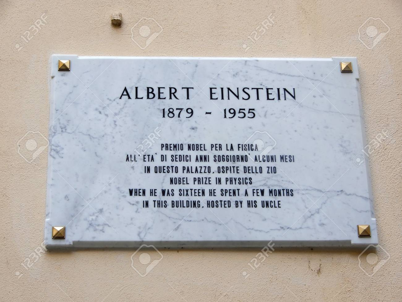 License Plate Of Albert Einstein Nobel Prize In Physics When Stock Photo Picture And Royalty Free Image Image 107474609 If the vehicle uses only one licence plate the excessive sticker must be attached to the registration papers. license plate of albert einstein nobel prize in physics when