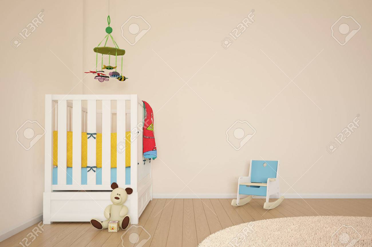 Kids play room with bed and other toys - 24921208