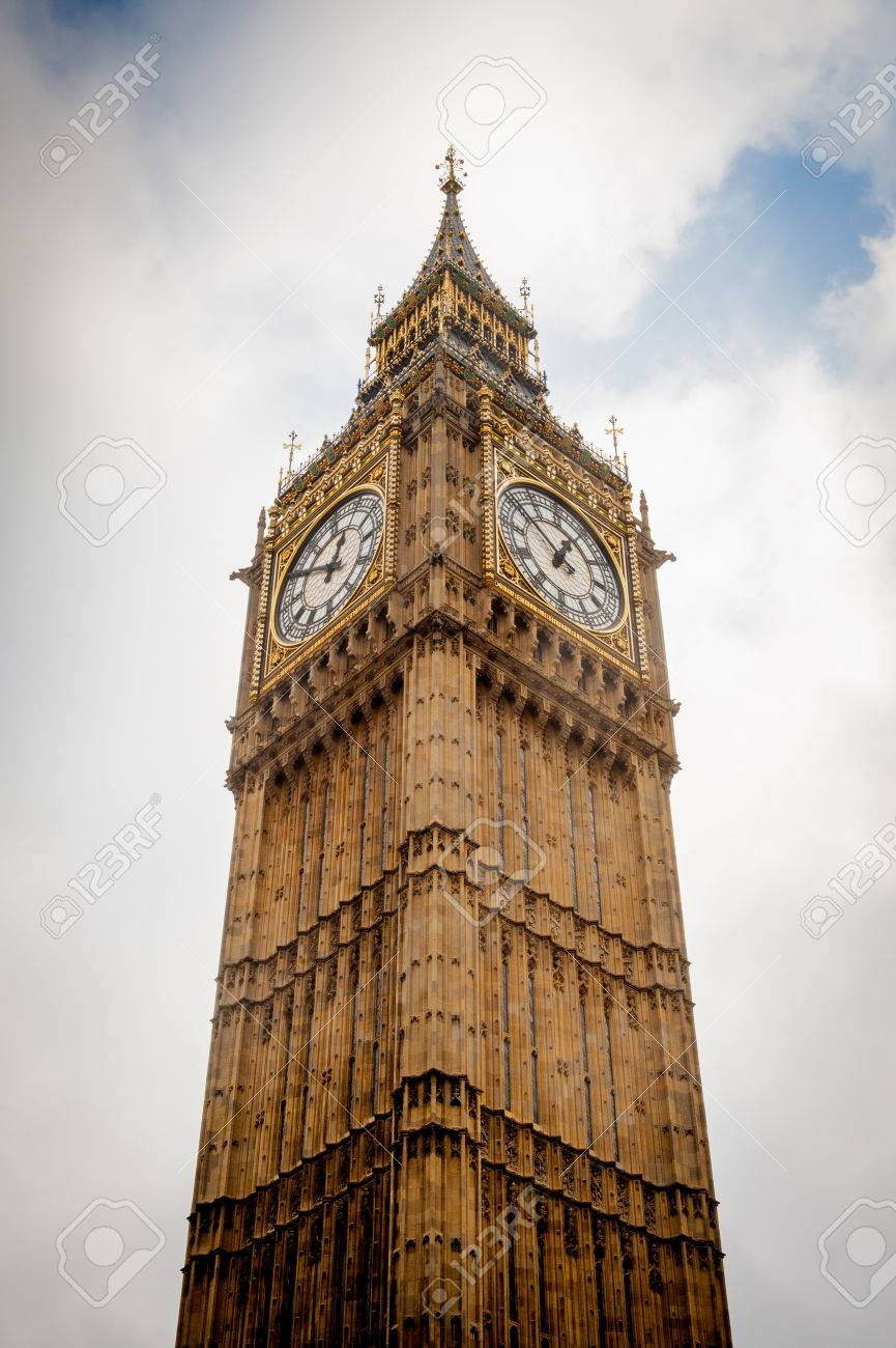 big view photography. Stock Photo - The Big Ben Tower, View From Ground, London Photography C