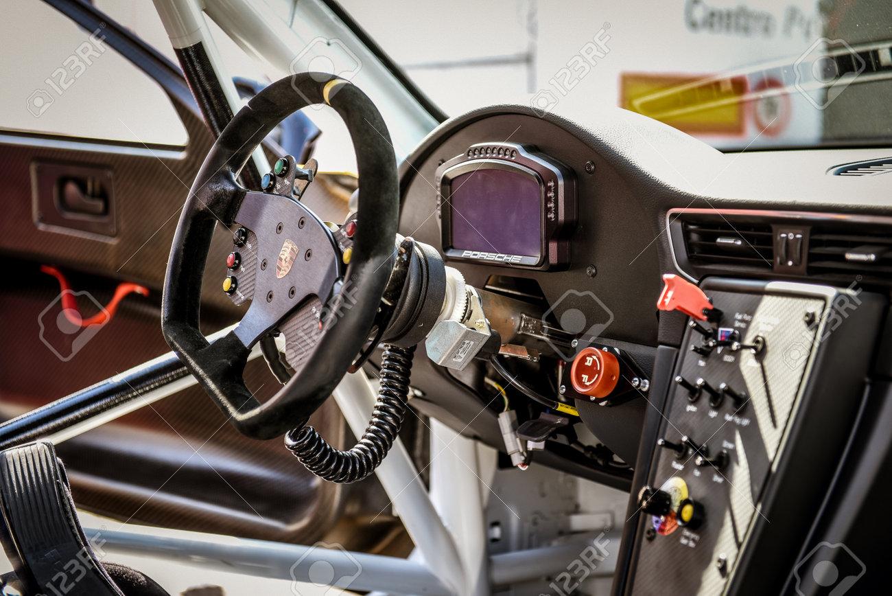 Vallelunga Rome Italy June 24 2017 Porsche Carrera Racing