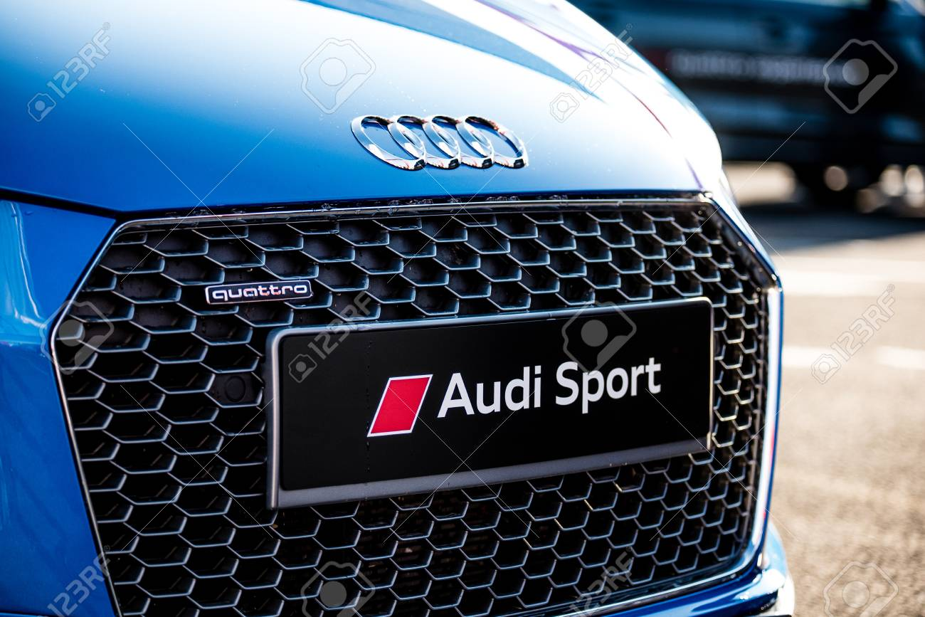 Vallelunga Italy September 24 2017 Audi Touring Sport Car Front Stock Photo Picture And Royalty Free Image Image 86658633