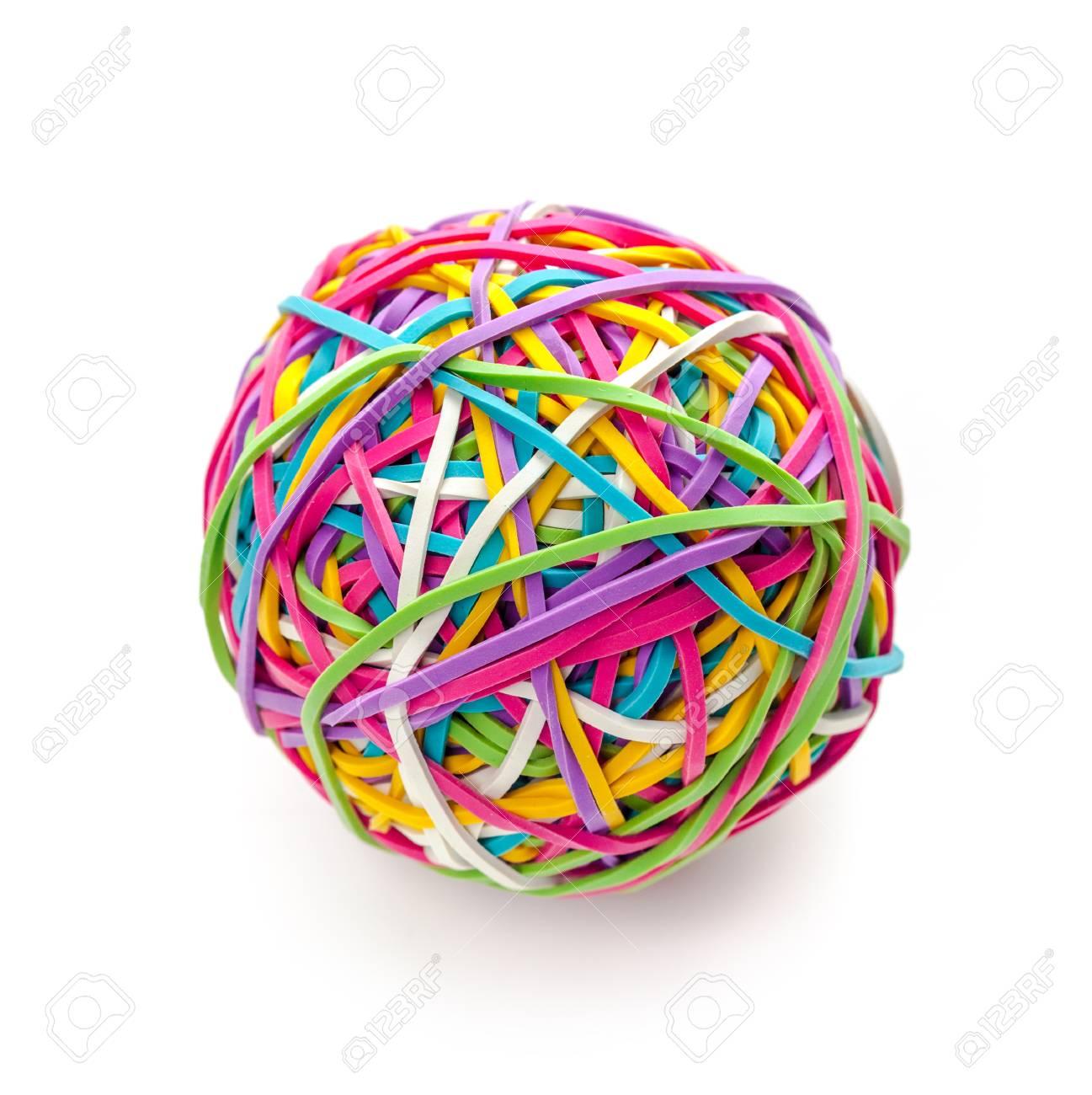 Rubber band ball - 78651337