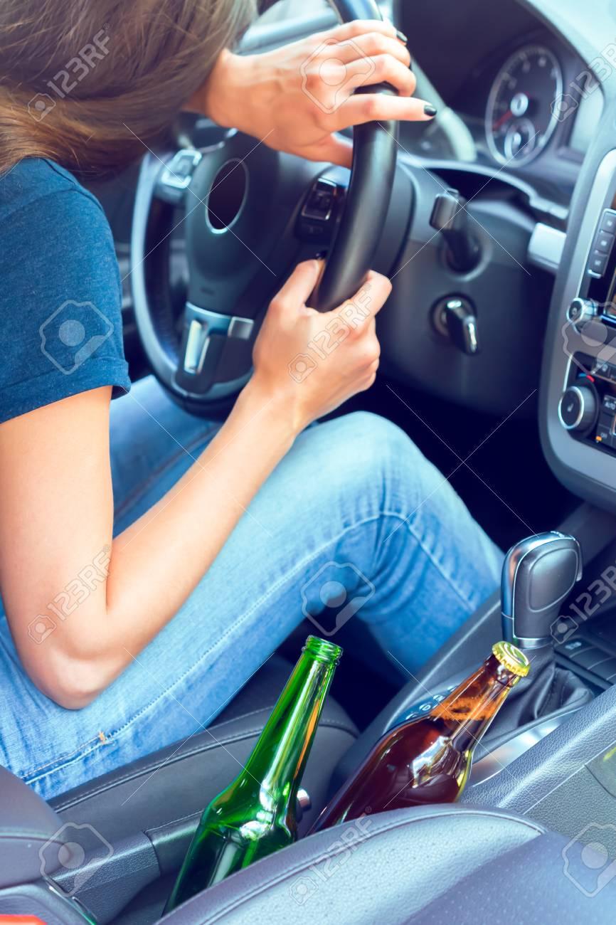 Dangerous female driver - 79825076