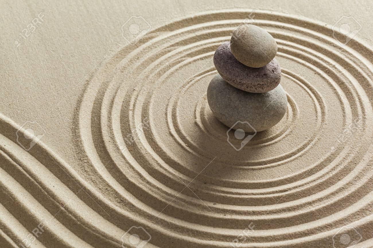 Zen garden stones on sand stock photo picture and royalty free stock photo zen garden stones on sand workwithnaturefo
