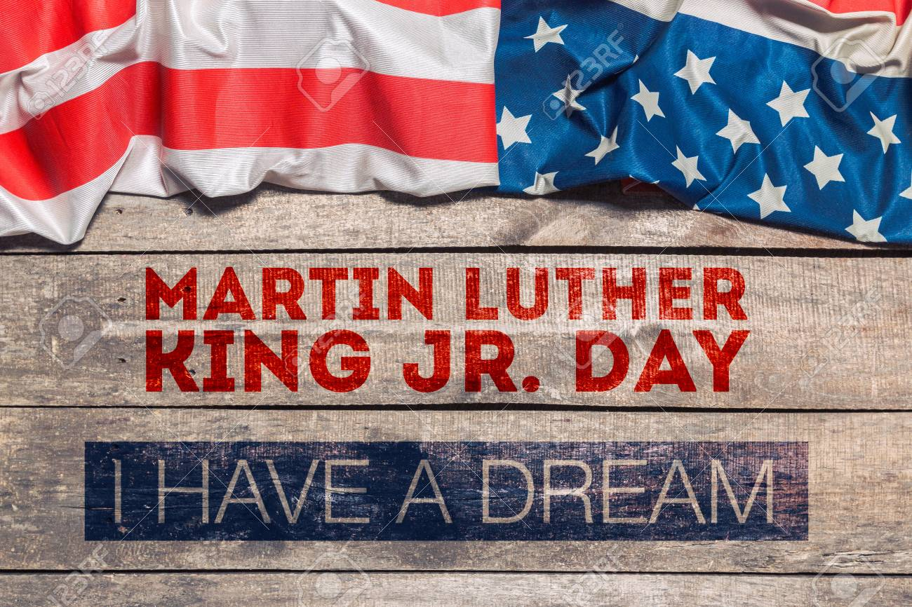 Happy Martin Luther King Day Background Stock Photo Picture And