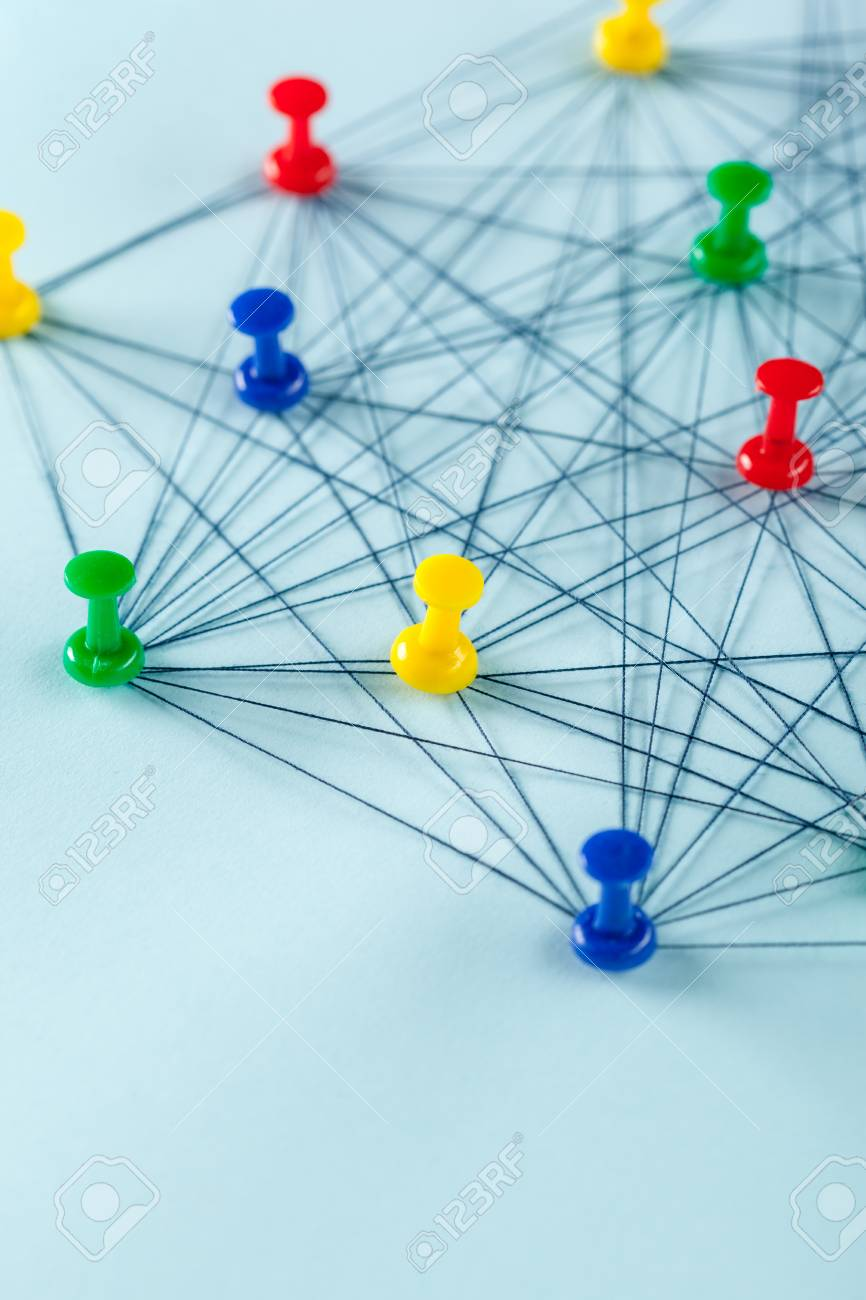 Network with pins - 104973897