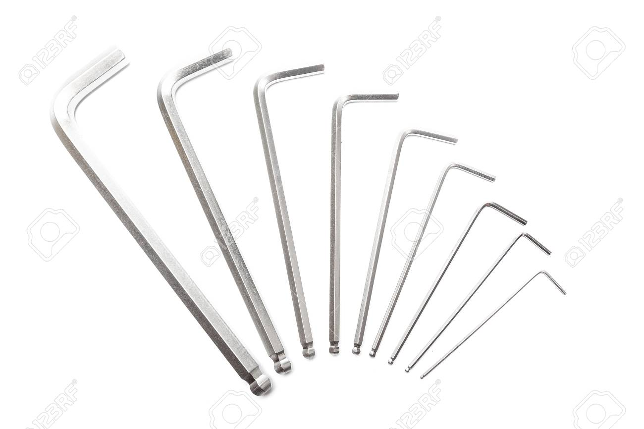 Word from hex keys on white background - 106823898