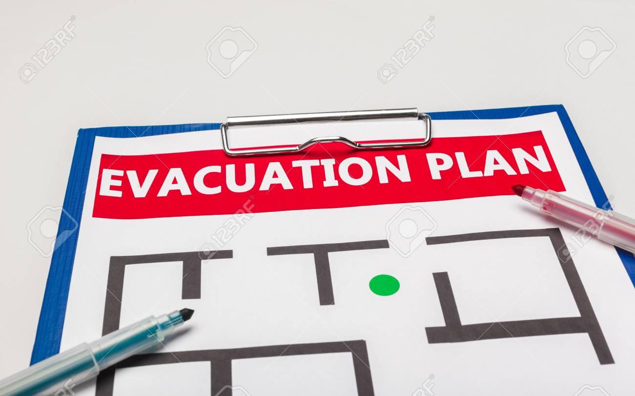 Emergency evacuation plan - 112936549
