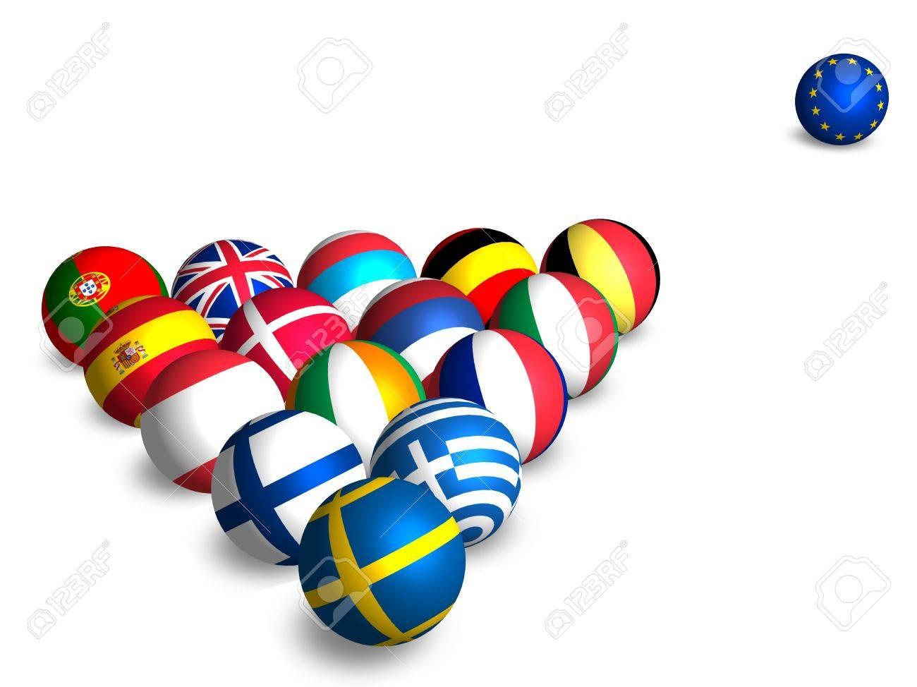 European Balls Stock Photo - 12832287