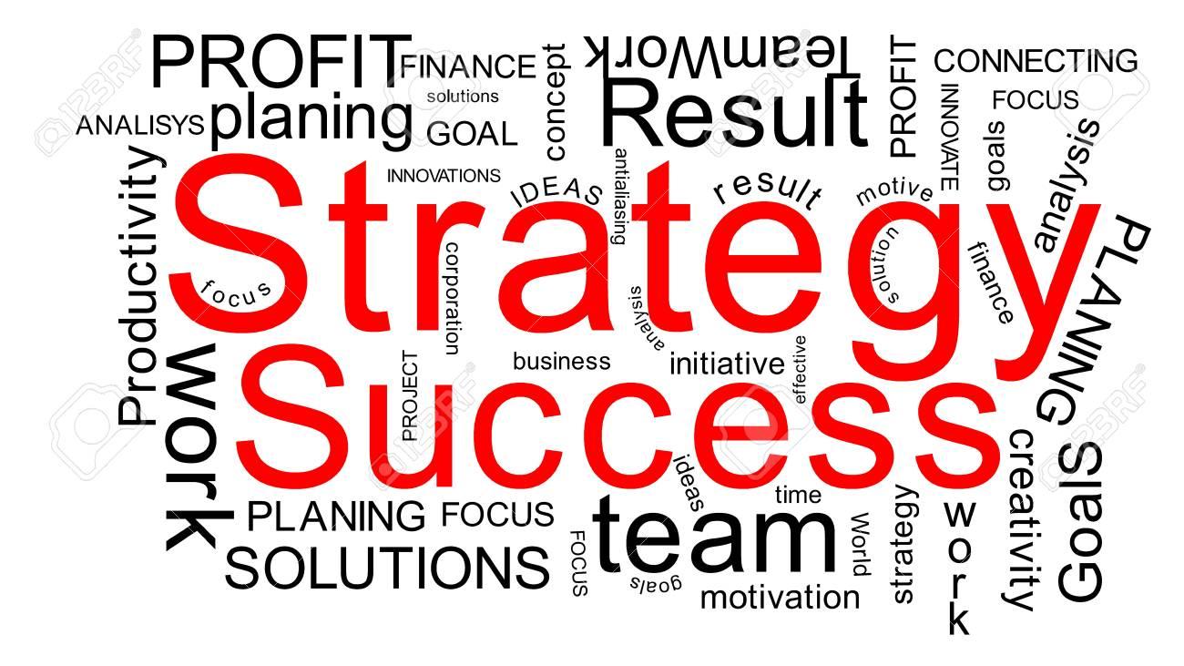 Strategy success Stock Photo - 12833084