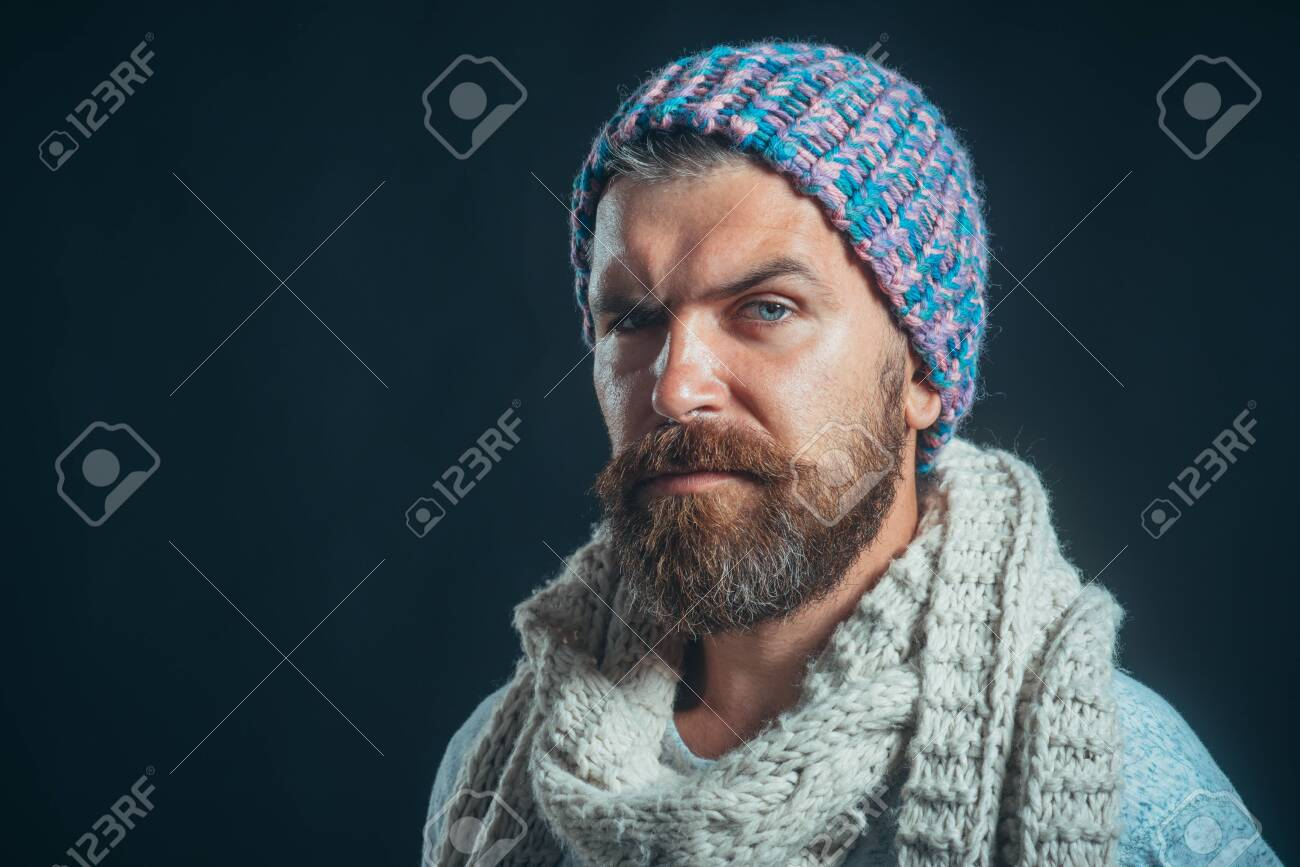 Elegant stylish male autumn/winter clothes. Men winter fashion