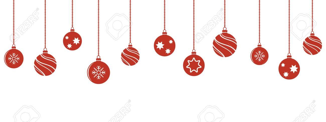 Christmas Ornament Vector.Christmas Balls Decorations Christmas Hanging Ornaments Vector