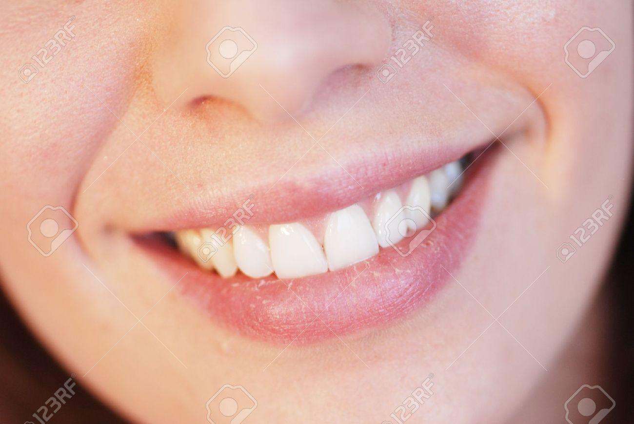 Close-up of beautiful girl smiling Stock Photo - 7430863