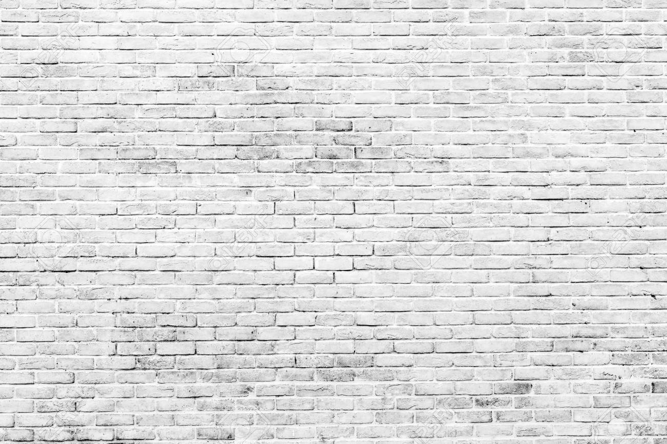 White Brick Wallpaper Texture