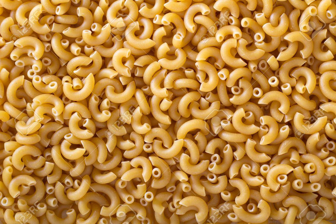Pasta Elbow Macaroni Background Small Pasta Shapes Stock Photo 51701608