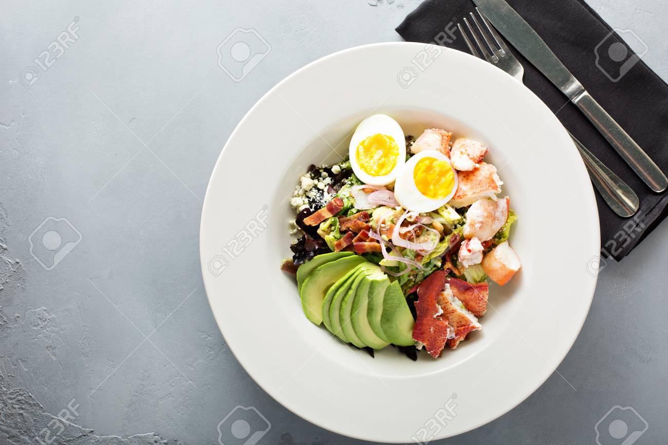 Lobster cobb salad - 98461903